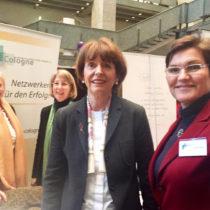 WBC beim Intern. Frauentag im Kölner Rathaus